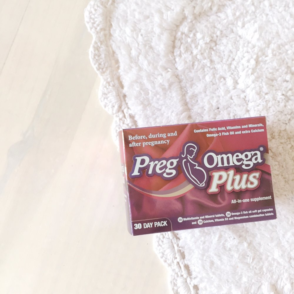 Prenatal Vitamins - PregOmega Plus