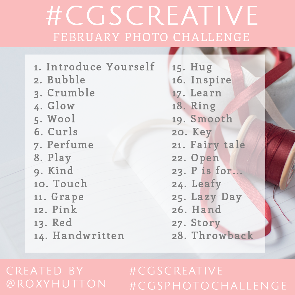 CGSCreative Photo Challenge How to Grow your Instagram Following