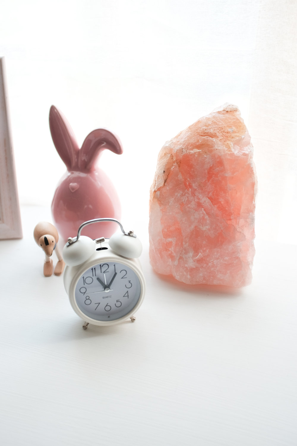rose quartz lamp nursery baby room south africa citygirlsearching blog night light for baby room