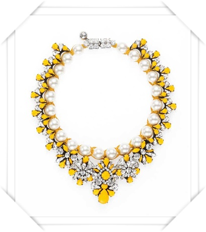 Shourouk  Marisa Safran Necklace