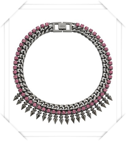 Mawi Classic Spiked Choker