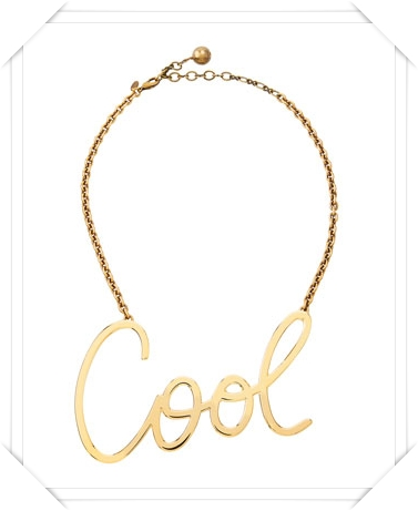 Lanvin  Cool Necklace