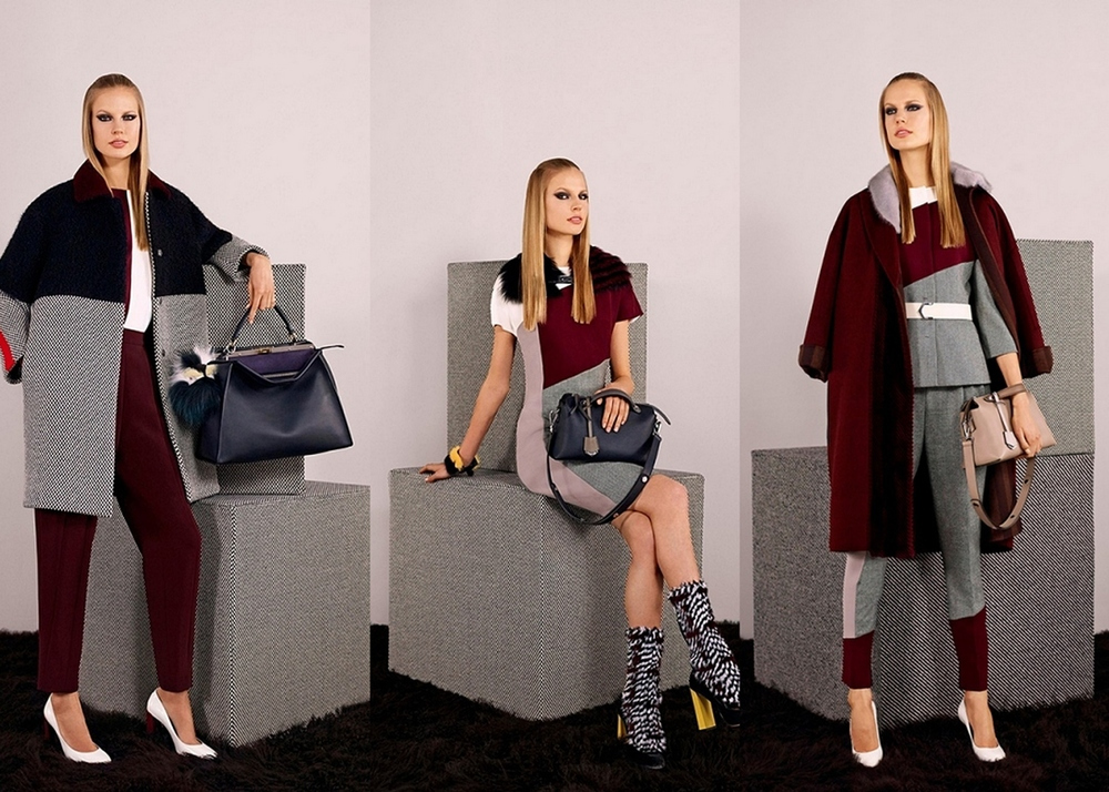 Fendi Pre-Fall 2014 - Photo Courtesy of: Fendi