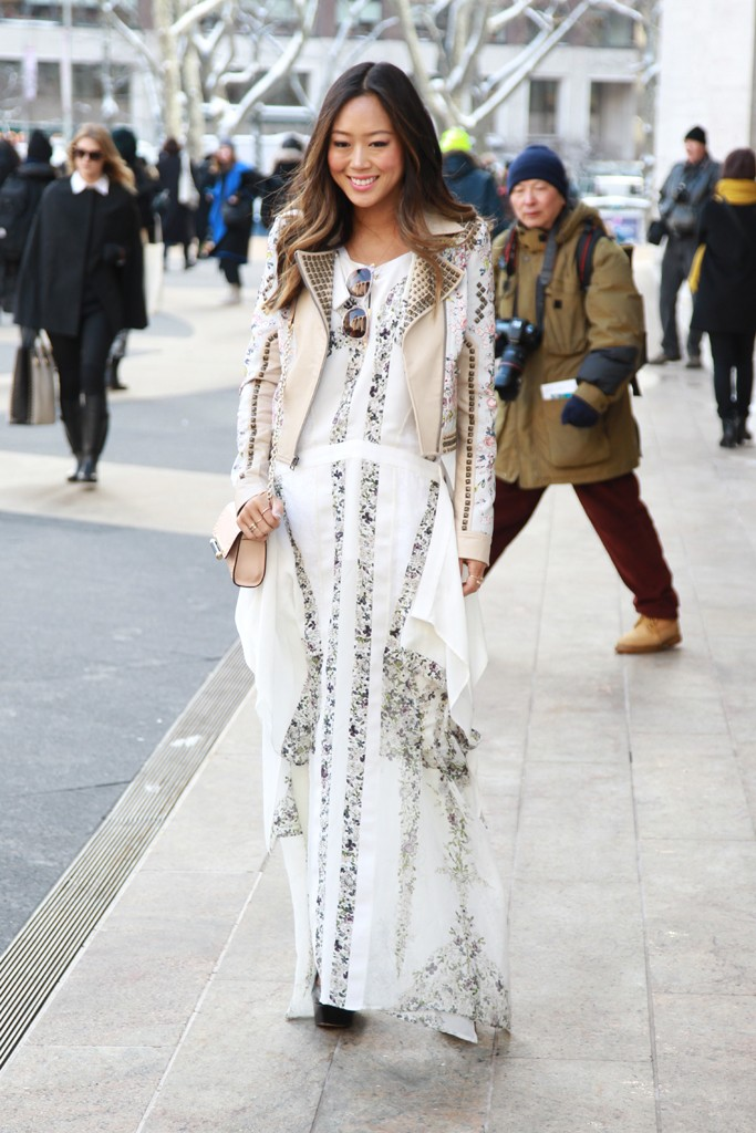 Fashion Report Outside The Shows In New York Reportista
