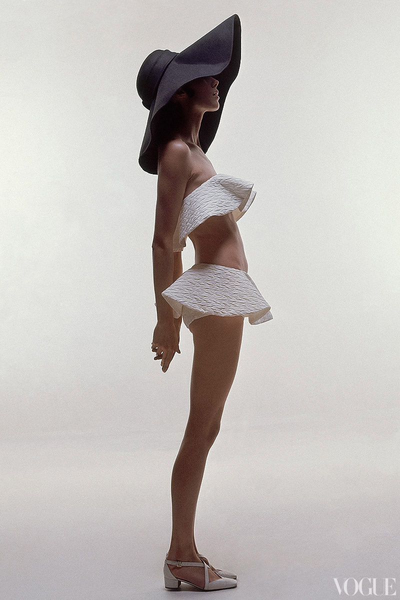 Photographed by Bert Stern, Vogue, June 1969.