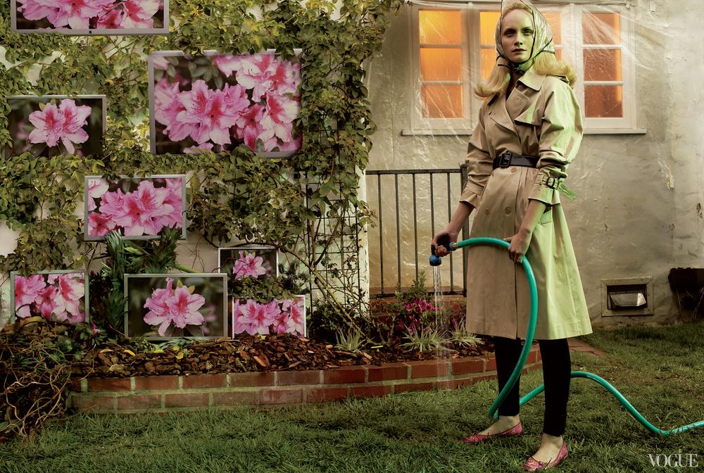 Amber Valletta - Vogue, June 2006