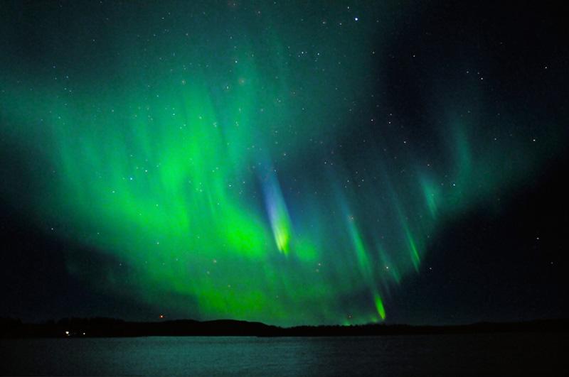 Inspirationen hämtas från Norrskenets färger