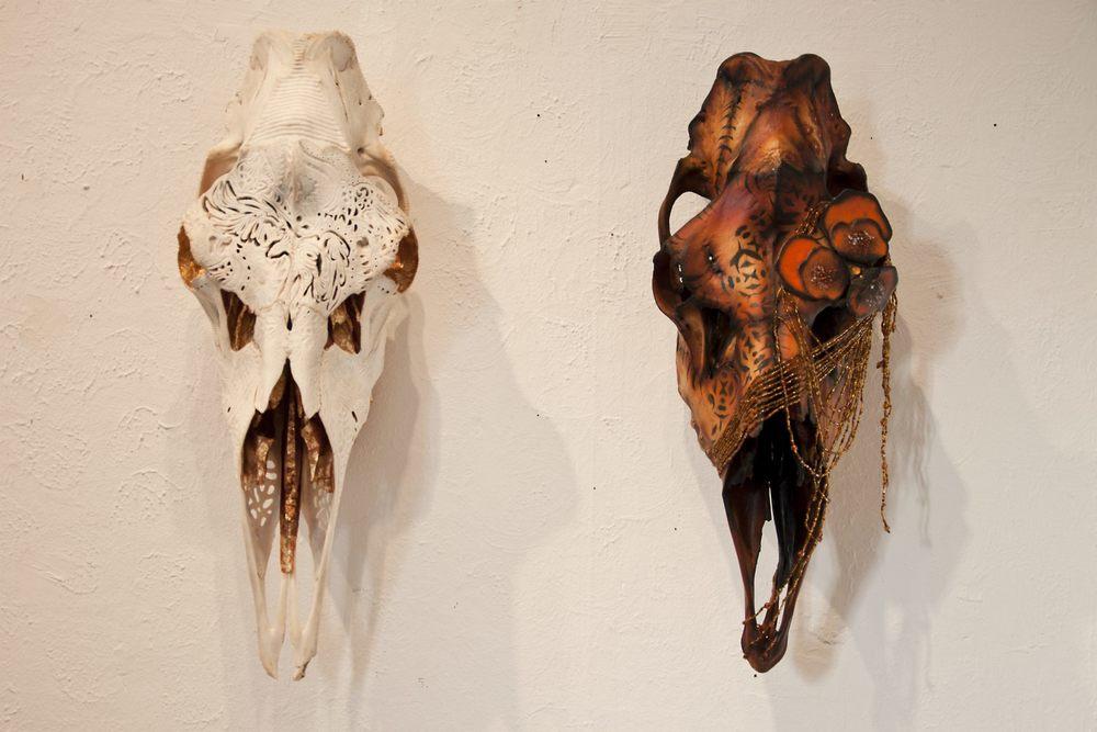 Skallkonst av Petra Shara Stoor. www.skullartistry.com