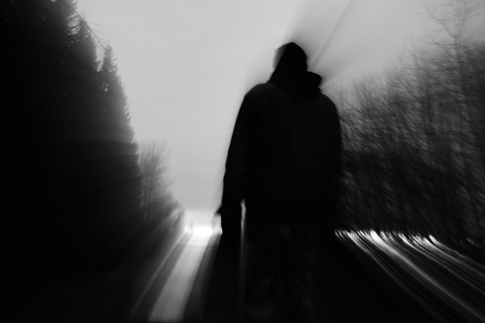 """Fotografi av Marie Olskims Lusth från utställningen """"Ljus och mörker"""""""