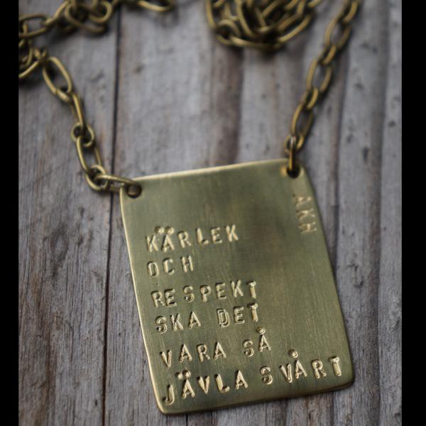 Smycke av Anna-Karin Hulling.  www.hullingsilver.se