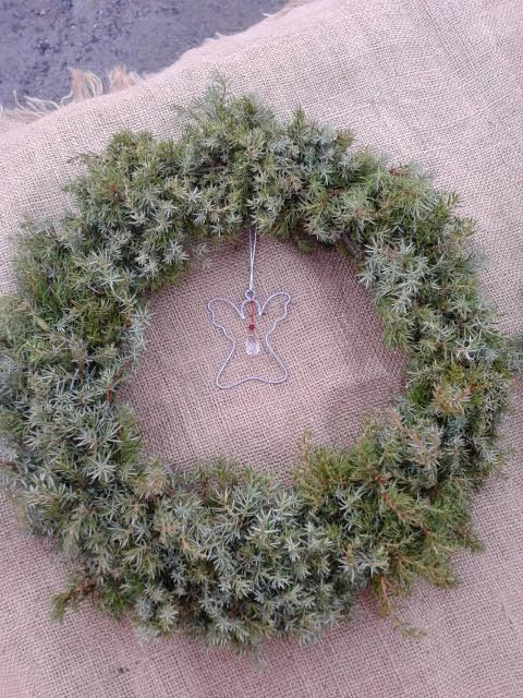 Julkrans av Cina Sundling