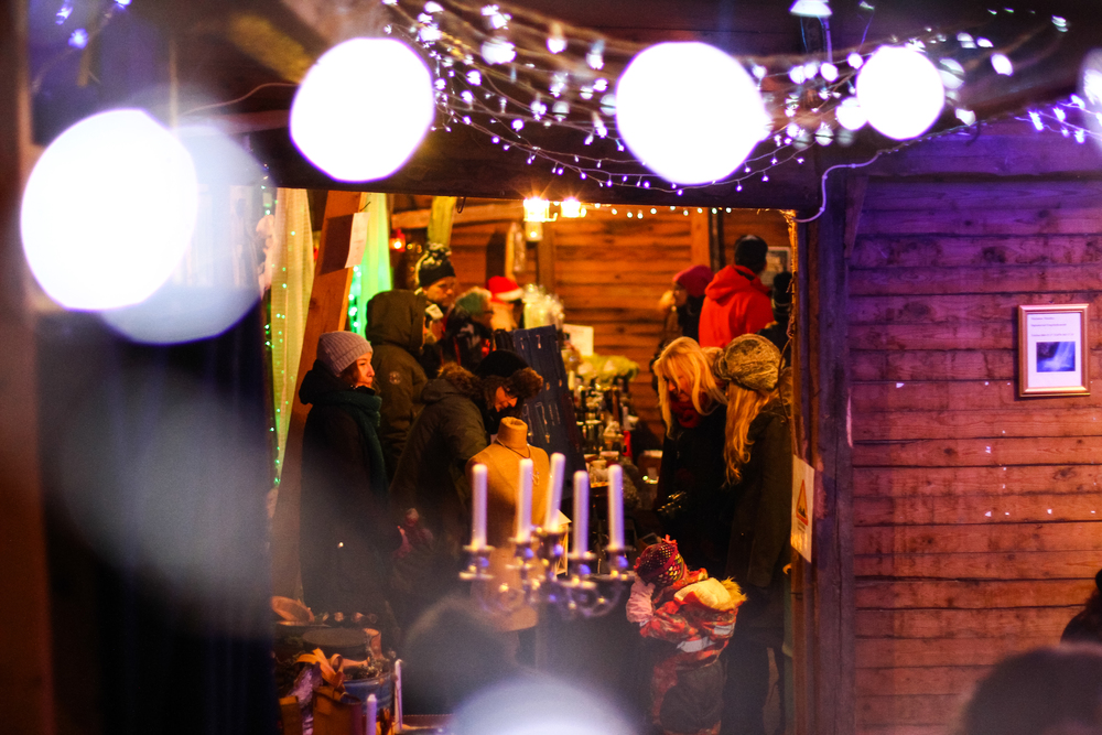 Midvinterglöds alternativa julmarknad - här möts spännande kulturer, uttryck och människor. Foto Daniel Funseth