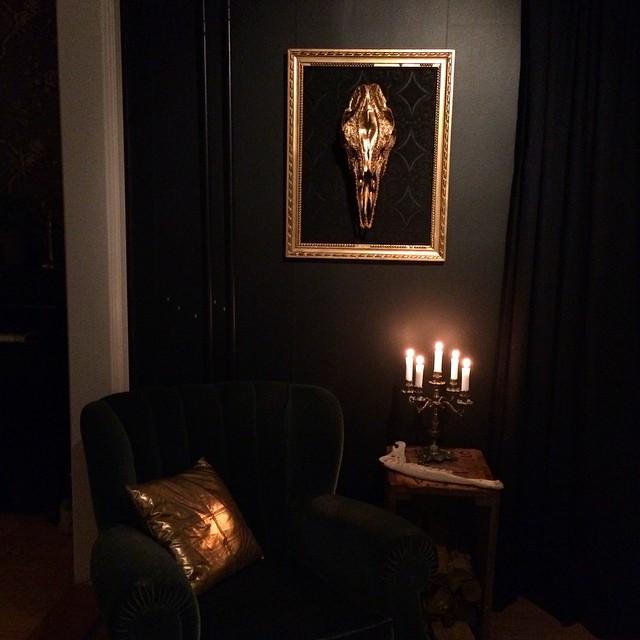 Kraniekonst av Petra Shara Stoor.