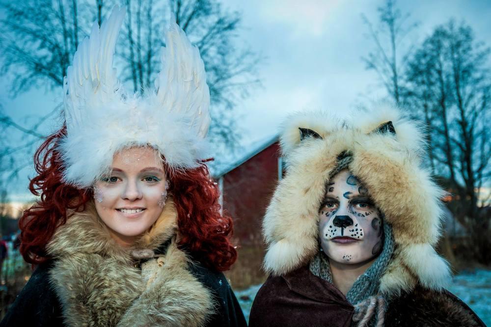 Två magiskt vackra Vinterväsen fångade på bild av fotograf Martin Burmester. www.martinburmester.eu