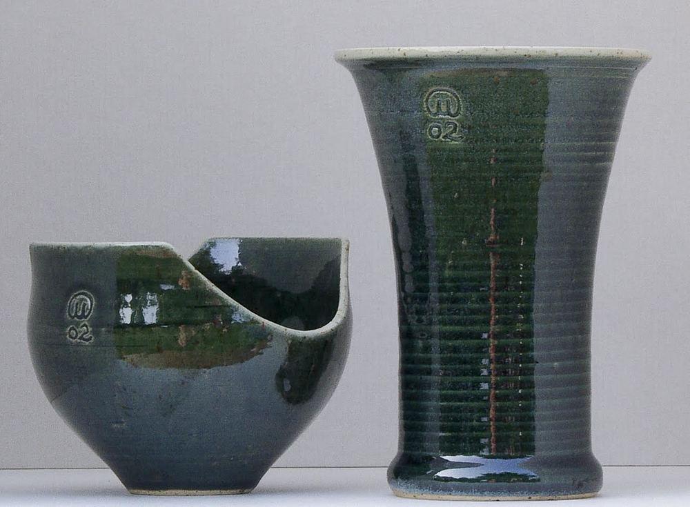 Malte Larsson medverkar på Midvinterglöds julmarknad och ställer ut sin keramik