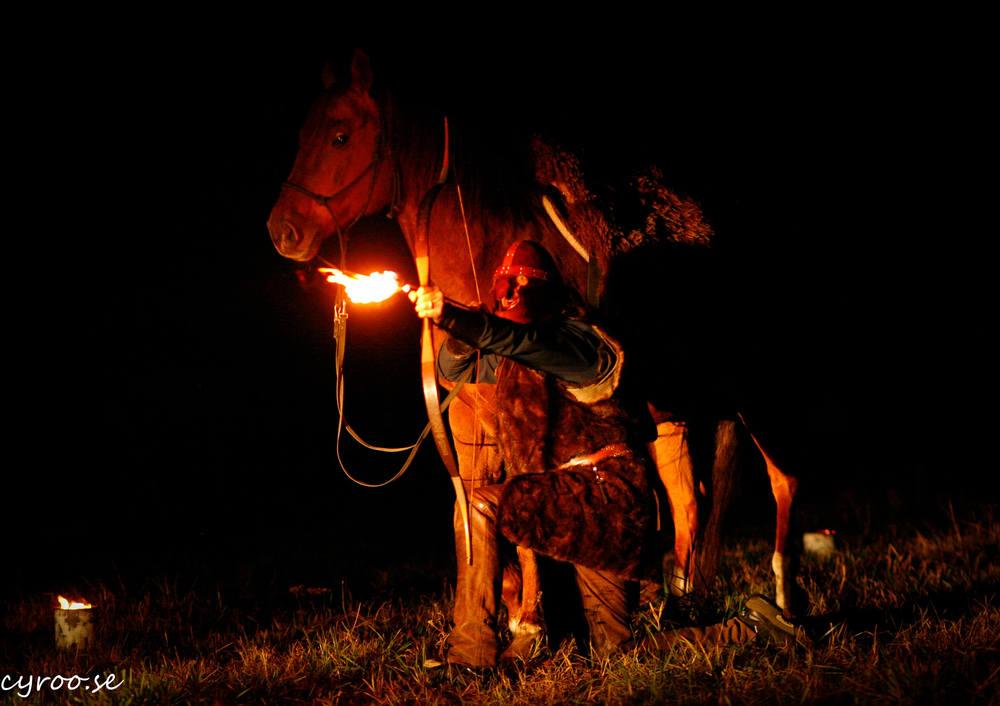 Med eld, mystik och musik uppträder och medverkar Dalecarlian Horse Adventures för första gången på Midvinterglöd 12 december 2015!