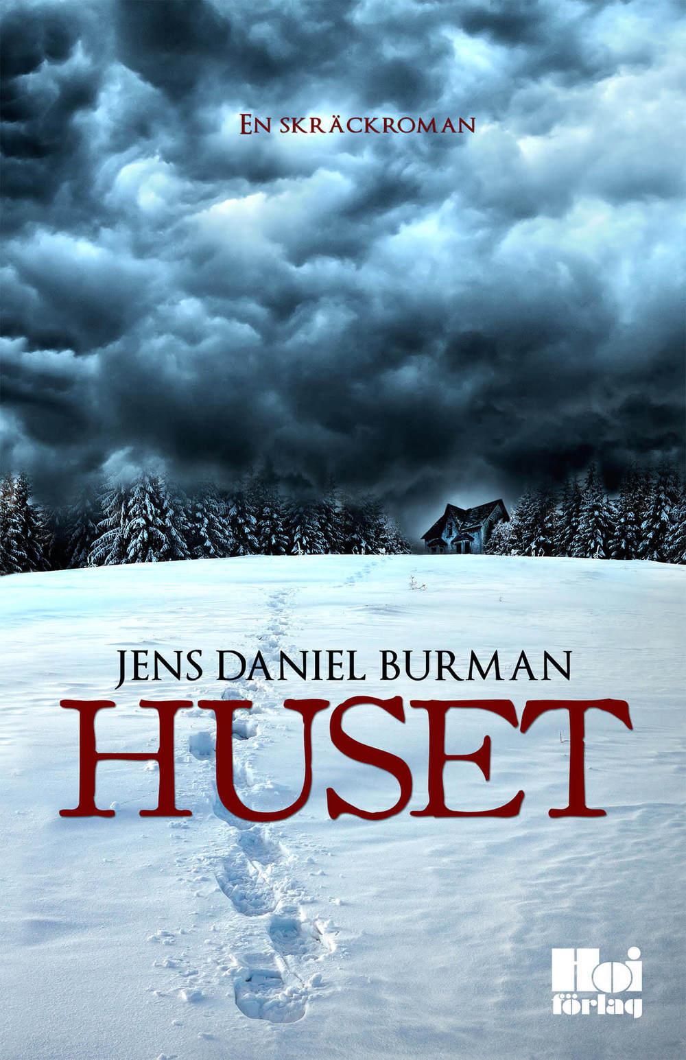 """Jens Daniel Burman medverkar på Midvinterglöd med debutromanen """"Huset"""" som kommer finnas till försäljning på julmarknaden."""
