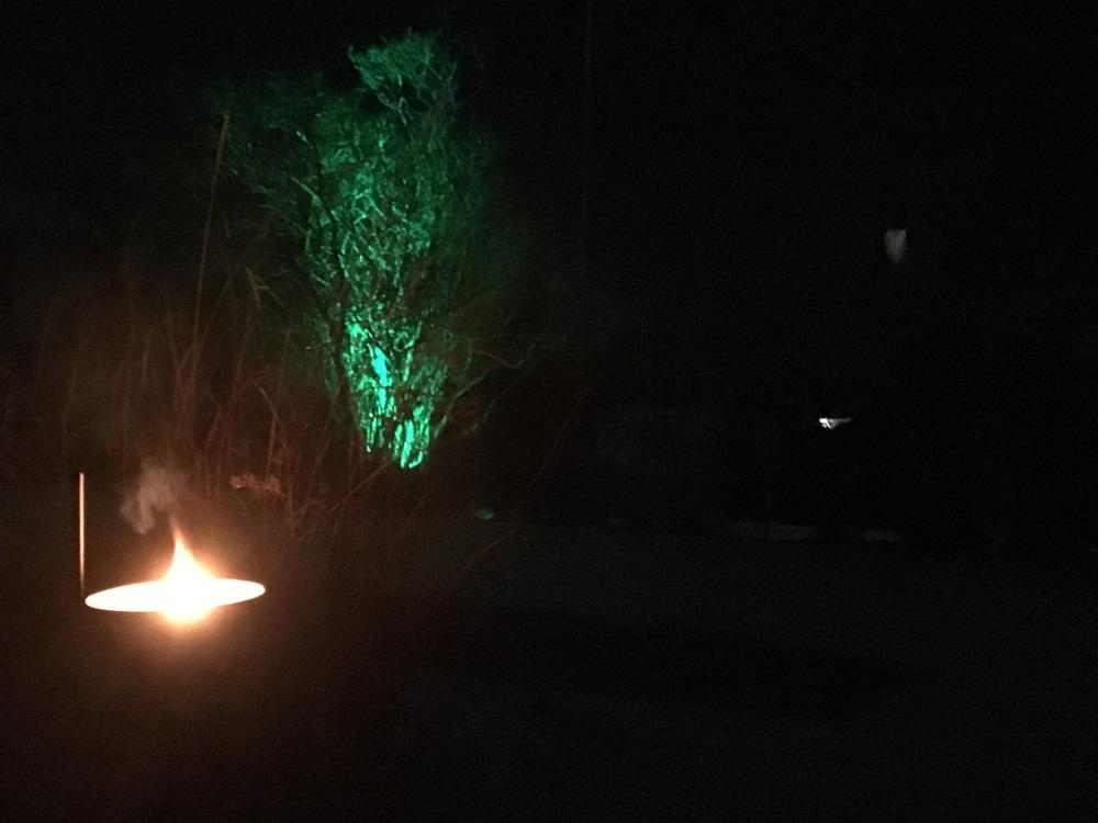 Första magiska ljuset har tänts.. nu är det nära till Midvinterglöd!