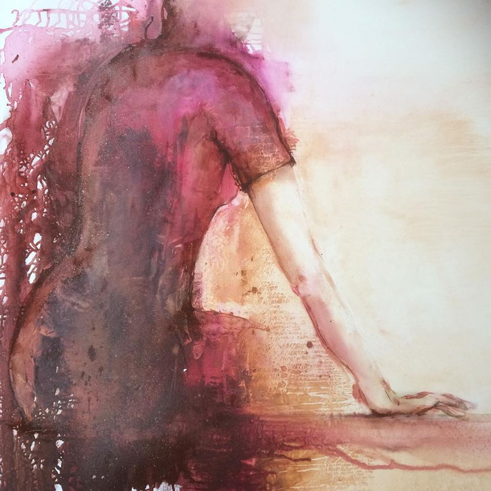 Oljemålning av Janina Stoor