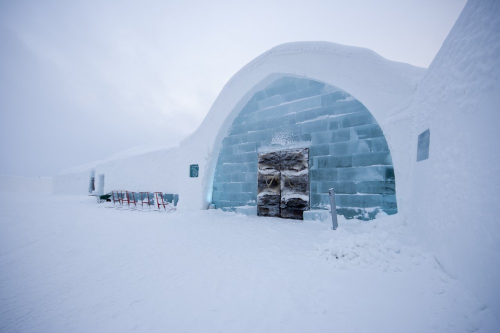 ICEHOTEL i Jukkasjärvi. www.icehotel.com