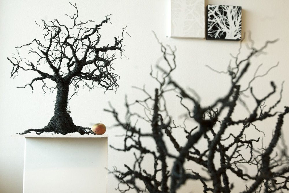 Susanne Arnfridsson - Arnfridsson Art and Steel - Träd i ståltråd.