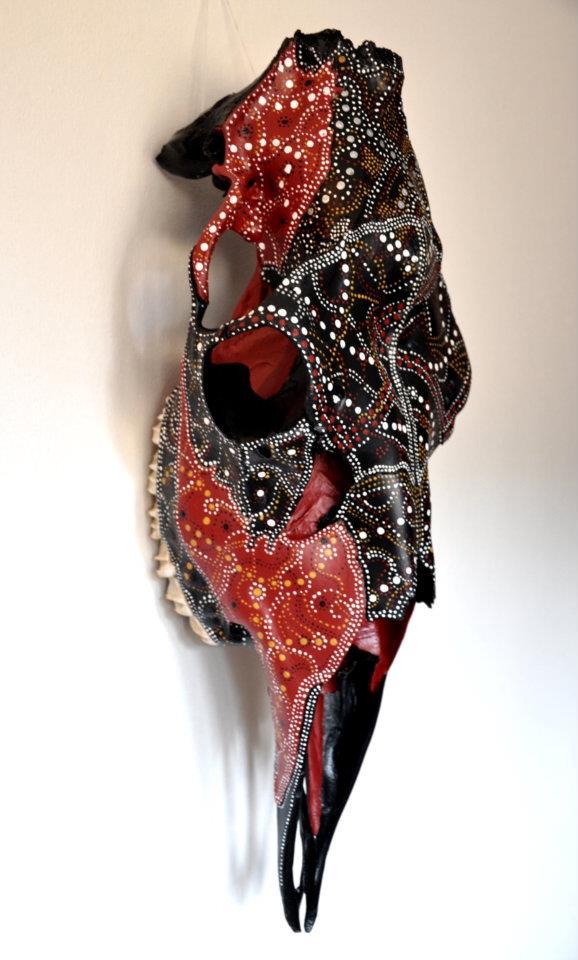 Skelettkonst av Petra Shara Stoor, Skulls & Bones Artwork.