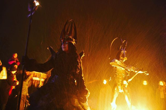 Lucia the bearer of light.  #midvinterglöd #luciatåg #midvinter #hälsingland #folktro #norse #pegan #folklore #light #helsinglight #lucia