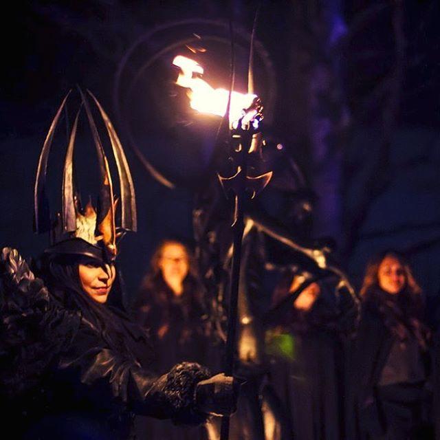 Midvinterglöd 2012 Lucia in folklore.  Only 4 days left to this years Lucia, 10 December.  #midvinterglöd #luciatåg #jagärlucia  #jättendal #nordanstig #hälsingland #julmarknad #folktro #folklore #norse #norsepagan #sweden #sverige