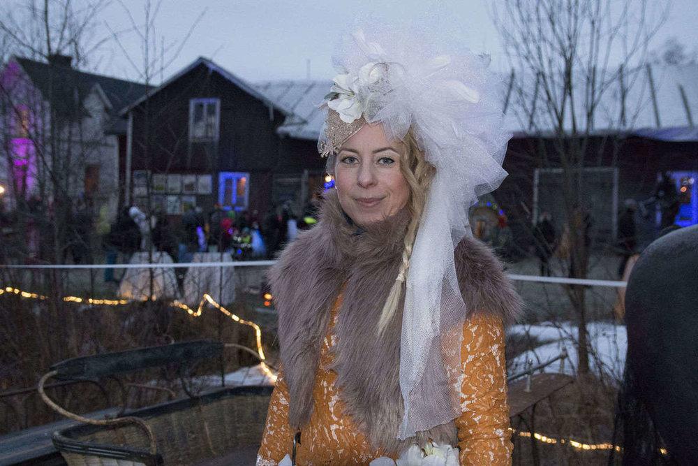 Janina Stoor har tillsammans med sin syster Petra (Shara Stoor) och Fredrik Fernlund jobbat hårt för att femårsjubileet av Midvinterglöd skulle bli den bästa hittills. Foto: Johan Adeström