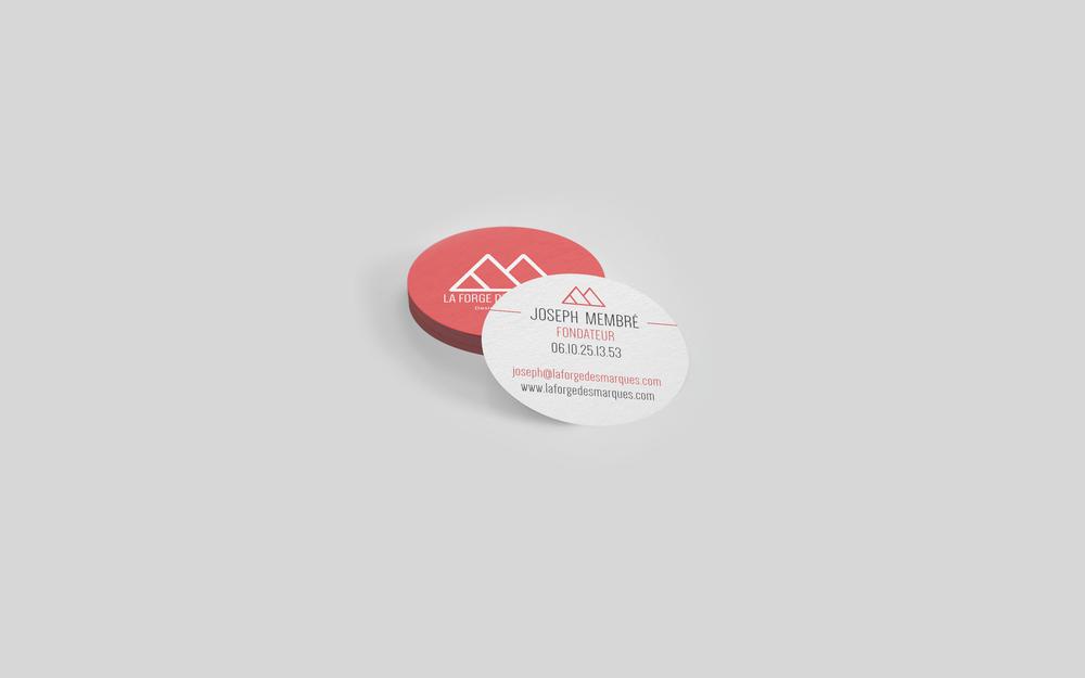 Connu LFDM - Création identité graphique | La Forge des Marques | Agence  LV12