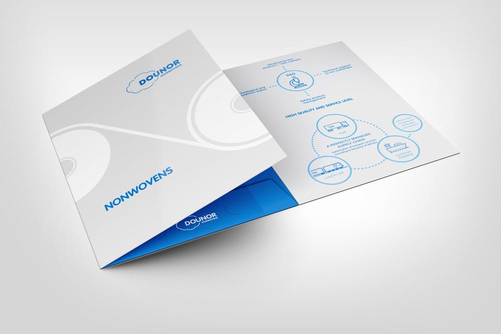 création design plaquette commerciale