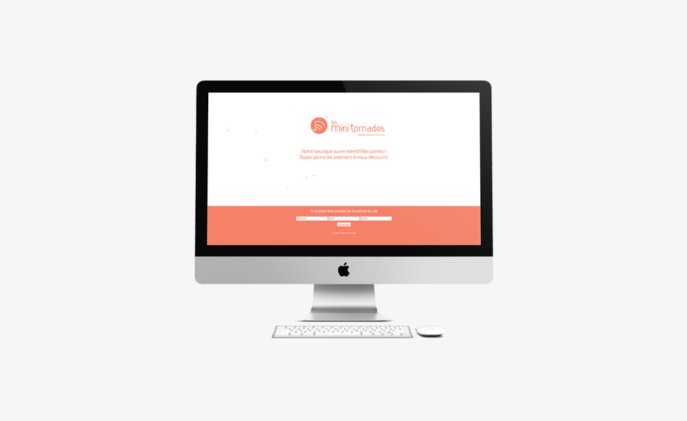 Landing page opening soon