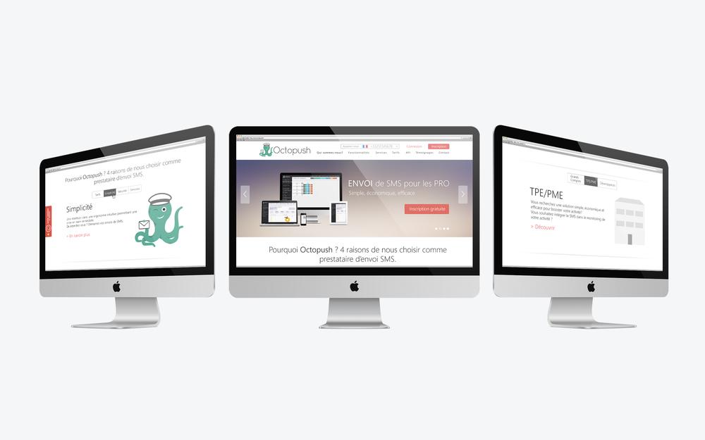 Homepage - desktop