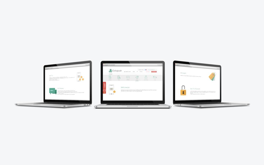 Page services - laptop