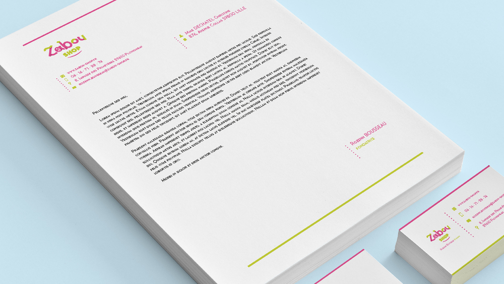 Papeterie - papier à lettres