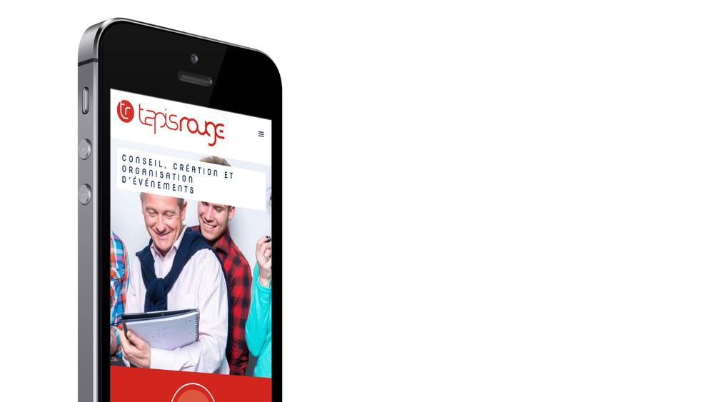 Site web responsive - iPhone