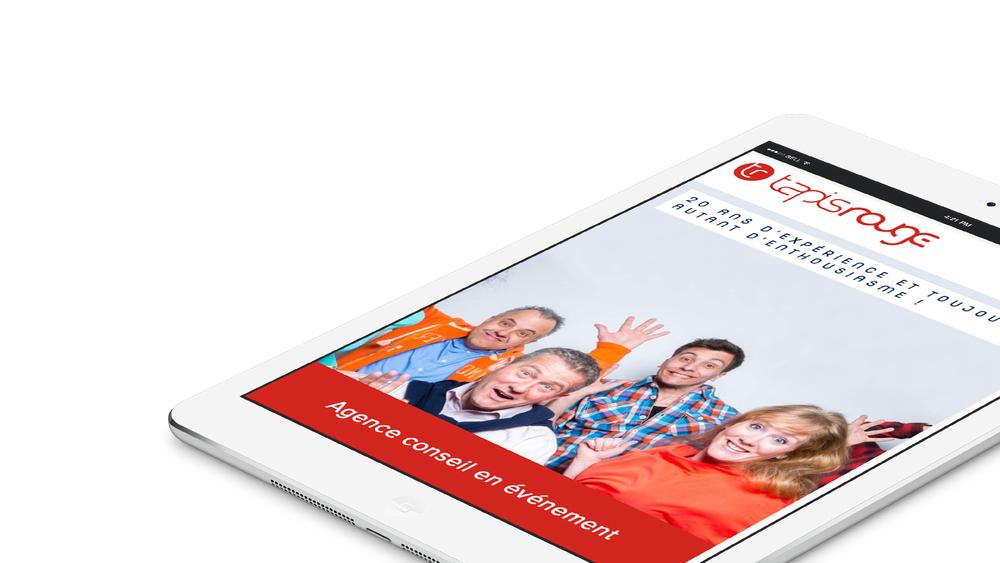 Site web responsive - iPad
