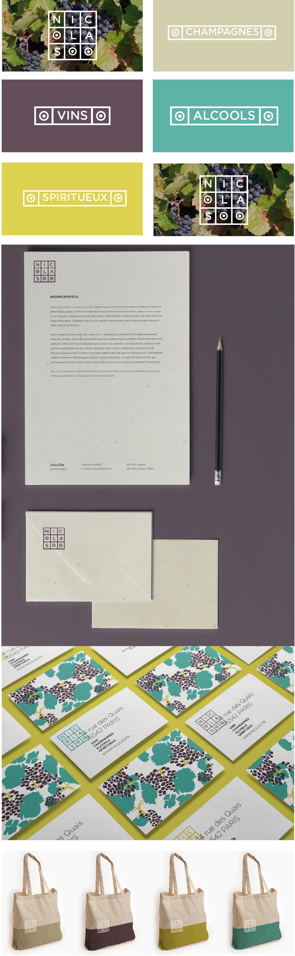 Création design papeterie et packaging