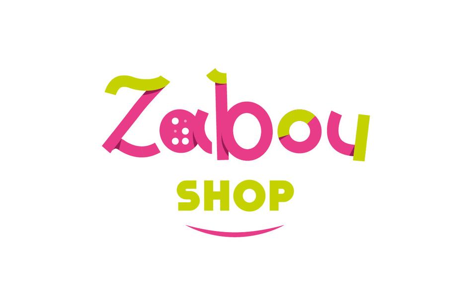 Zabou Shop - Identité visuelle - Site e-commerce