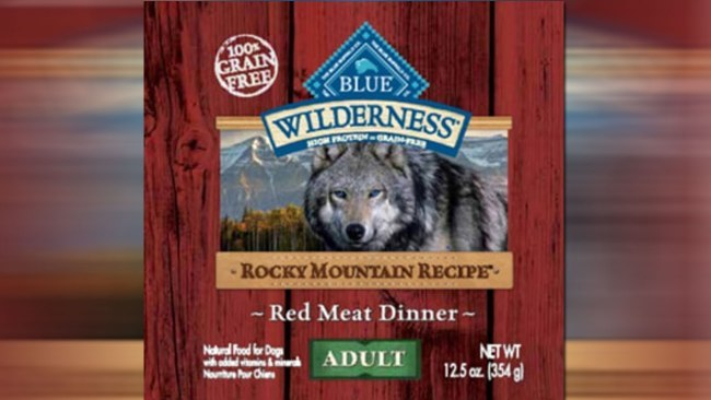 A dog food product sold nationwide is being recalled due to a potential health risk. Blue Buffalo Company voluntarily recalled some of its BLUE Wilderness Rocky Mountain Recipe Red Meat Dinner Wet Food for Adult Dogs. The company says the product could have elevated levels of beef thyroid hormones. Ingesting high levels of beef thyroid hormones could cause weight loss, increase heart rate, restlessness and increased thirst and urination in dogs. Long-term effects include vomiting, diarrhea and rapid or difficult breathing. The FDA says it has taken one report of a dog showing symptoms. That dog has now fully recovered. The affected products have the UPC code 840243101153 and a best by date of June 7, 2019. If you have the product at home, the FDA says to stop feeding it to your pet, and contact your veterinarian. For more information on the recall, visit the Blue Buffalo website.