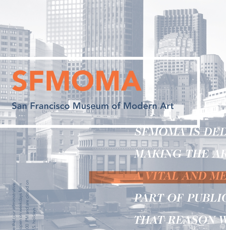 SF MoMA Newsletter