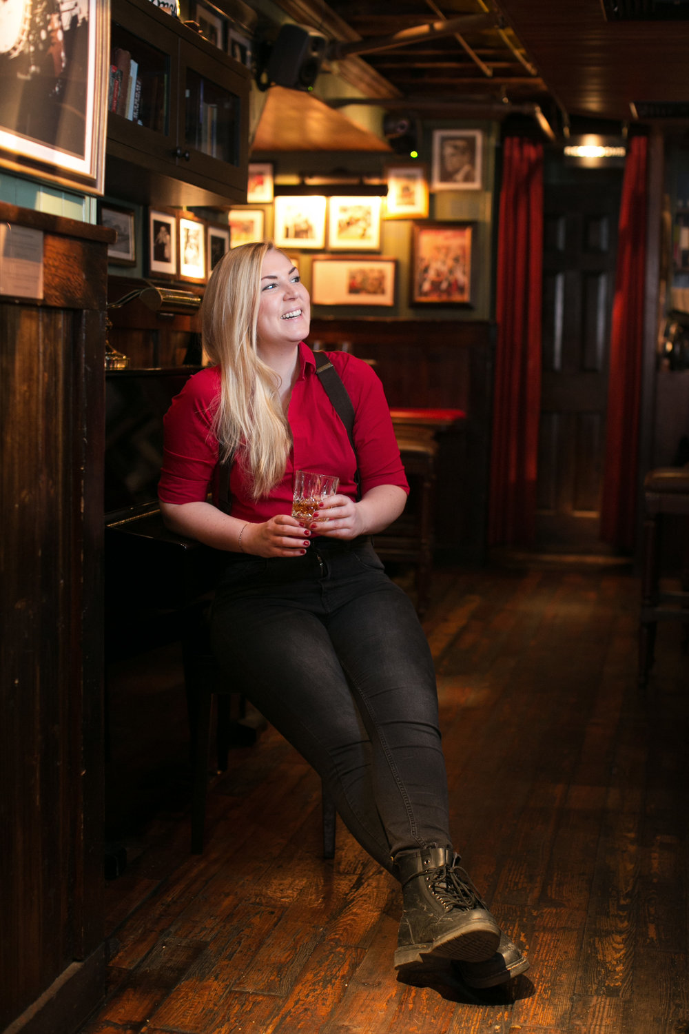 Madeleine Rapp, bartender at The Dead Rabbit.