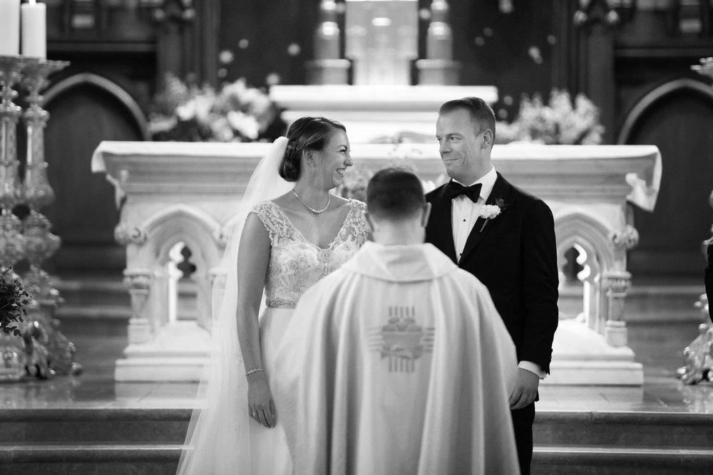 St. Patrick's Old Cathedral wedding