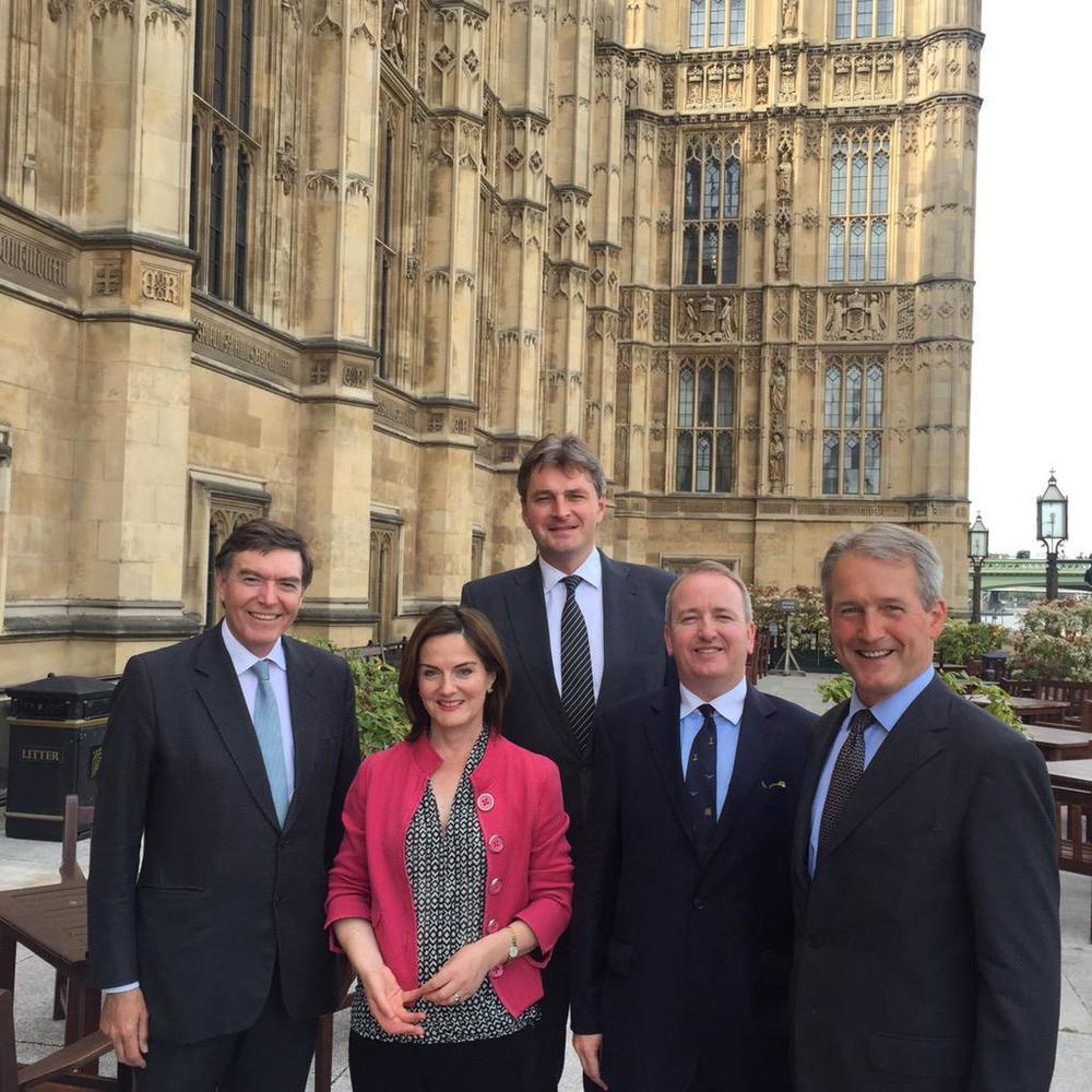 L-R: Philip Dunne, Lucy Allan, DanielKawczynski, Mark Pritchard & Owen Paterson