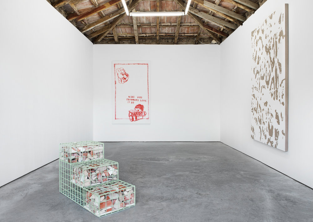 Installation view, Out Of Office - Aujourd'hui on holiday at Hawaii-Lisbon, Hawaii-Lisbon.
