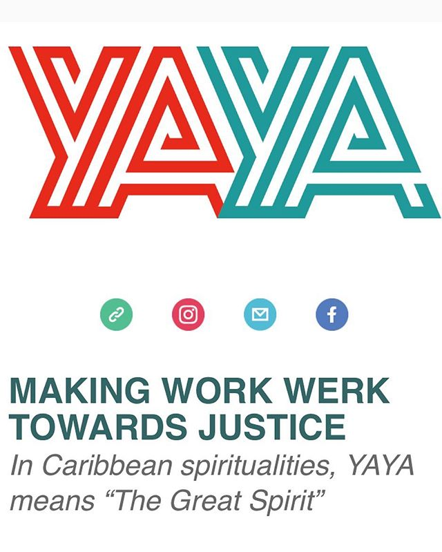 Humbled and excited to be sharing our YAYA newsletter with the ever-growing tribe!  YAYA, inspired by the Caribbean traditions, is a resource hub and community of changemakers committed to disrupting social norms that condone oppression. Access vetted and sourced content, ideas, trainings and experiences that you can use to make real change--change that's true to you .  Get you're free personalized recipe for your 'do gooding' today and sign up for the newsletter: www.yayatoday.com