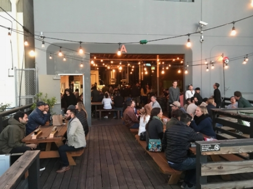 INGLEWOOD TASTING ROOM - OUTDOOR PATIO