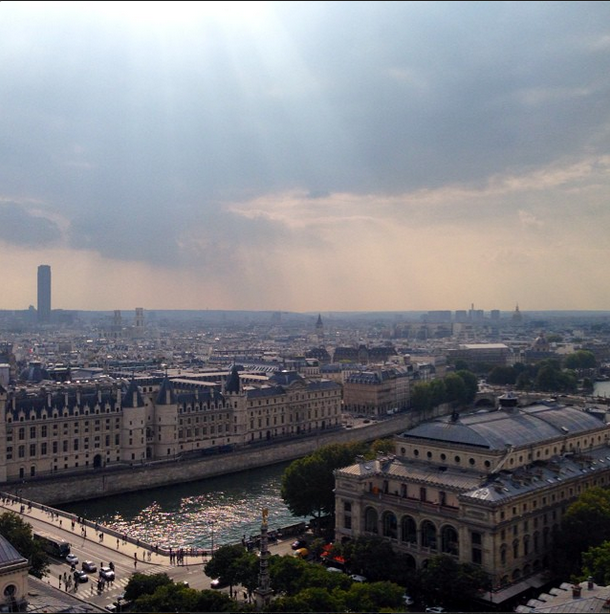 Paris from Perchoir BHV