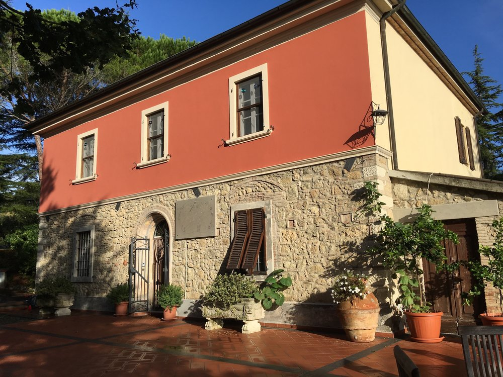 Villa Campo al sole neu verputzt