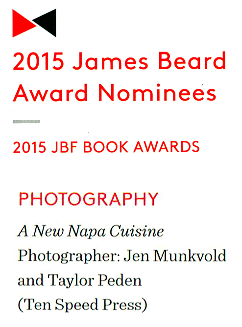 2015 JAMES BEARD AWARD NOMINEE